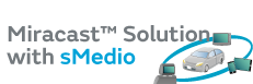 Miracast™ Solution with sMedio